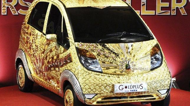 Un «hermano» de piedras preciosas para el Nano, el coche más barato del mundo