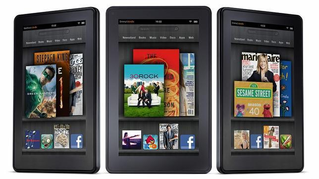 Así es Kindle Fire, el tablet de Amazon