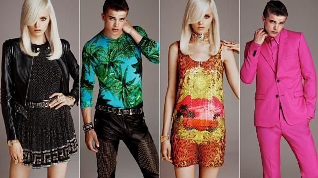 La colección completa de Versace para H&M