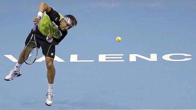 Ferrer se come a Davydenko