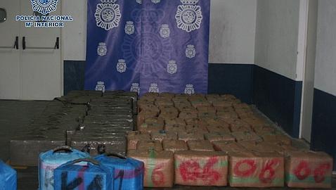 Detenido en Málaga uno de los mayores traficantes de hachís de Europa