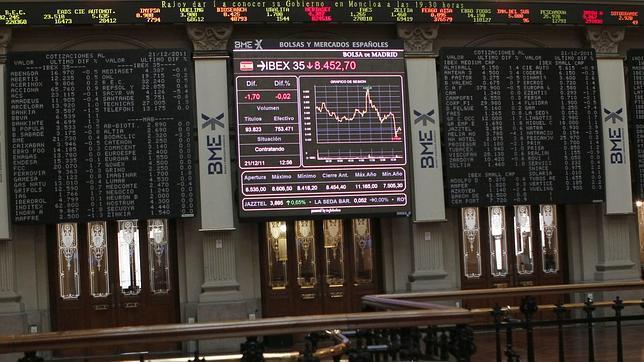 El Ibex cierra en busca de los 8.500 puntos básicos