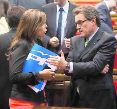 El empresariado catalán forzó el apoyo de CiU a Rajoy