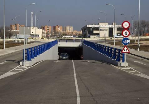 Abre al tráfico el SP12, entre la Depuradora y el GEO