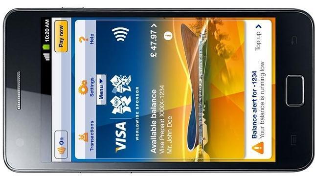 Visa y Samsung presentan la aplicación de pago con móviles de los JJ.OO. de Londres