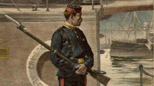 Cuando España inventó los marines