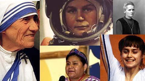 Cinco mujeres que hicieron historia
