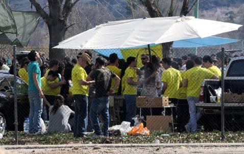 Miles de estudiantes «tomaron» La Peraleda convocados por ITI