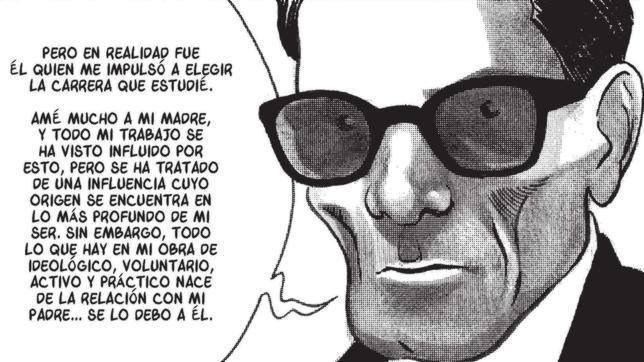«Pasolini», una novela gráfica que dibuja al natural al poeta y cineasta italiano
