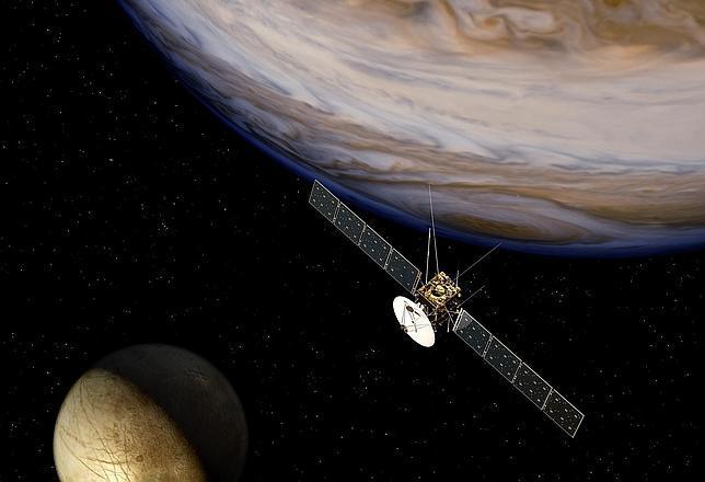 Buscan vida en las lunas de Júpiter
