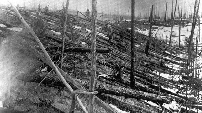 El «evento Tunguska», ¿provocado por un meteorito?