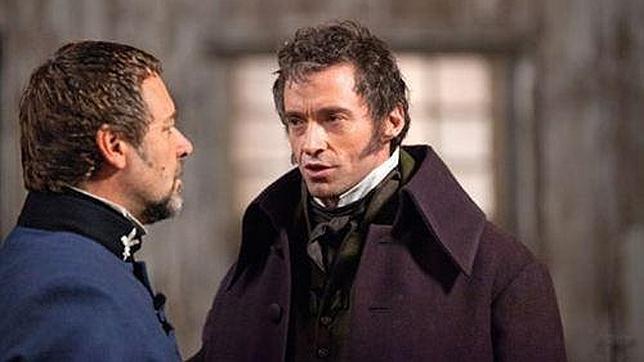 Hugh Jackman y Russell Crowe, cara a cara en las nuevas imágenes de «Los Miserables»