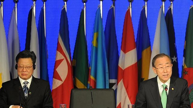 «Esperaba un documento más ambicioso», admite Ban Ki-moon en la apertura de la cumbre Río+20