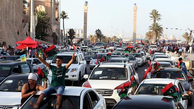 Los liberales libios cantan victoria
