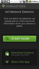 Lookout Ad Network Detector te informa de dónde viene la publicidad