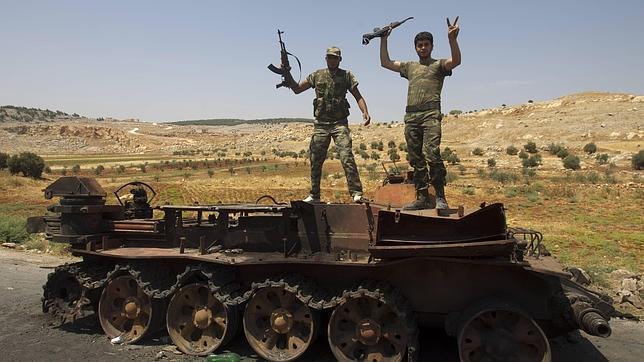 Decenas de muertos en una nueva ofensiva del régimen en Damasco