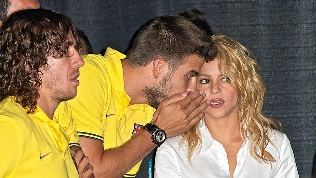 La embarazada Shakira, junto a Piqué y España en Puerto Rico