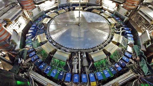 El LHC recrea la materia de los primeros instantes del universo