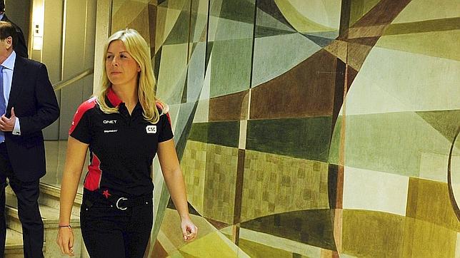 María de Villota: «Esta carrera la he ganado, porque estoy viva»