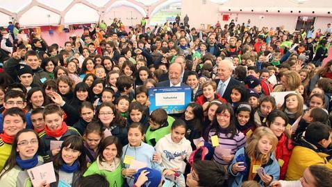 Valladolid recibe el título de «Ciudad Amiga de la Infancia»