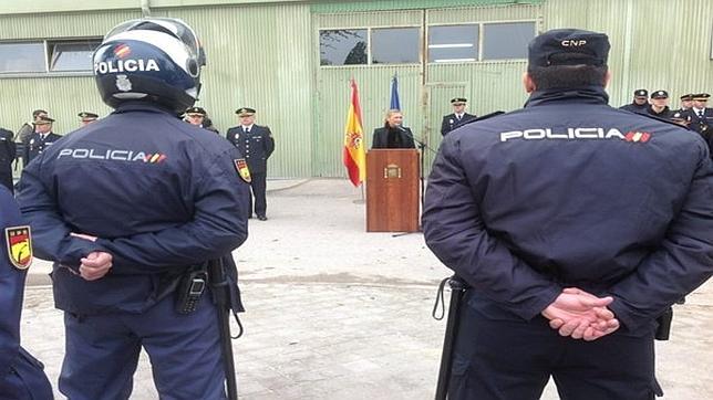 La Policía presenta a los «Bronce», una nueva Unidad de Prevención y Reacción