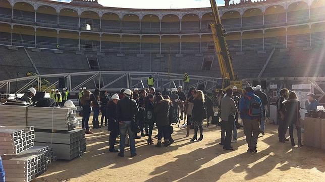 El Circo Mundial estrenará la cubierta de Las Ventas a mediados de diciembre