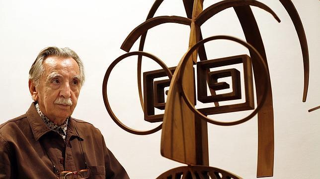 Muere, a los 86 años, el escultor valenciano Andreu Alfaro