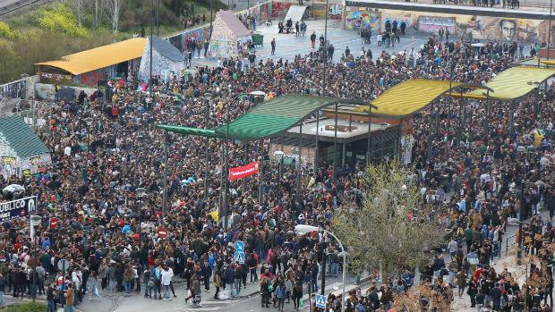 Fiesta de la Primavera de Granada el año pasado
