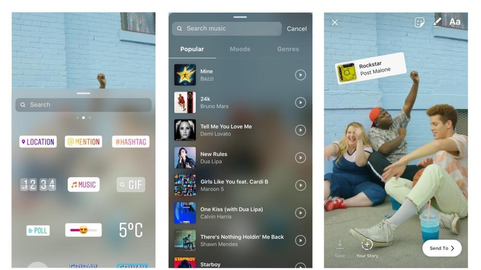 Cómo Poner Música En Las Fotos Y Vídeos De Instagram Stories