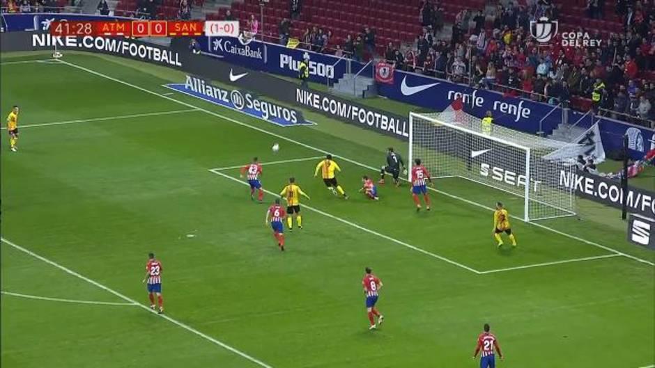 Copa del Rey: Goles y resumen del Atlético de Madrid 4-0 Sant Andreu