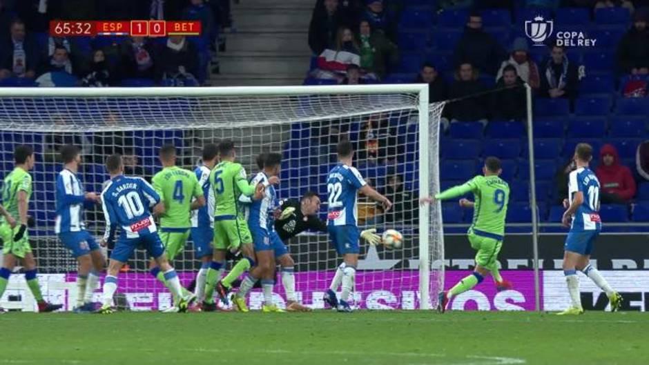 Copa del Rey (cuartos de final): Resumen y goles del Espanyol 1-1 Betis