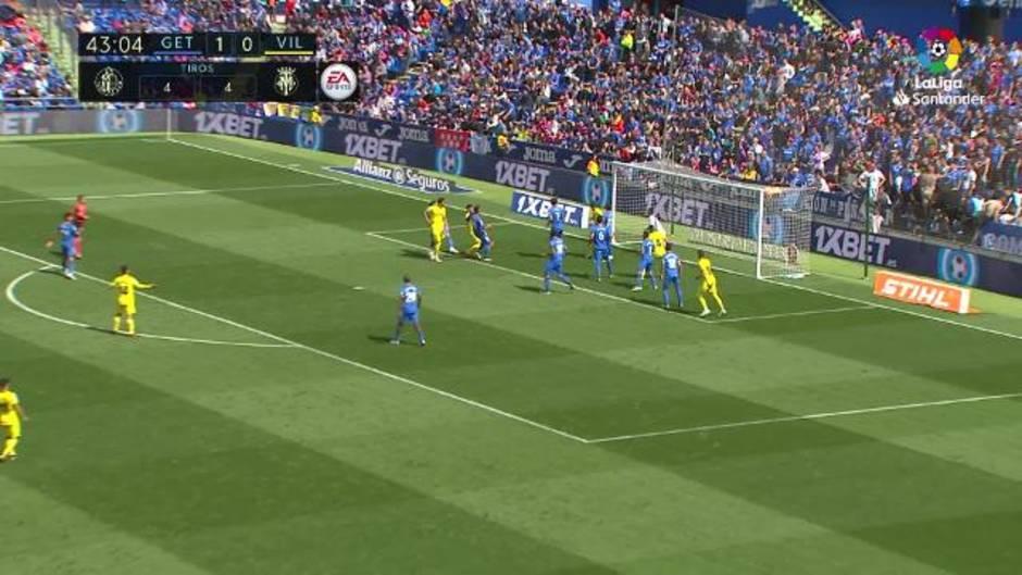 LaLiga Santander (J38). Resumen y goles del Getafe 2-2 Villarreal