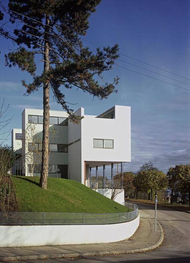 Casas de la Weissenhof-Siedlung, Stuttgart, Alemania, 1927