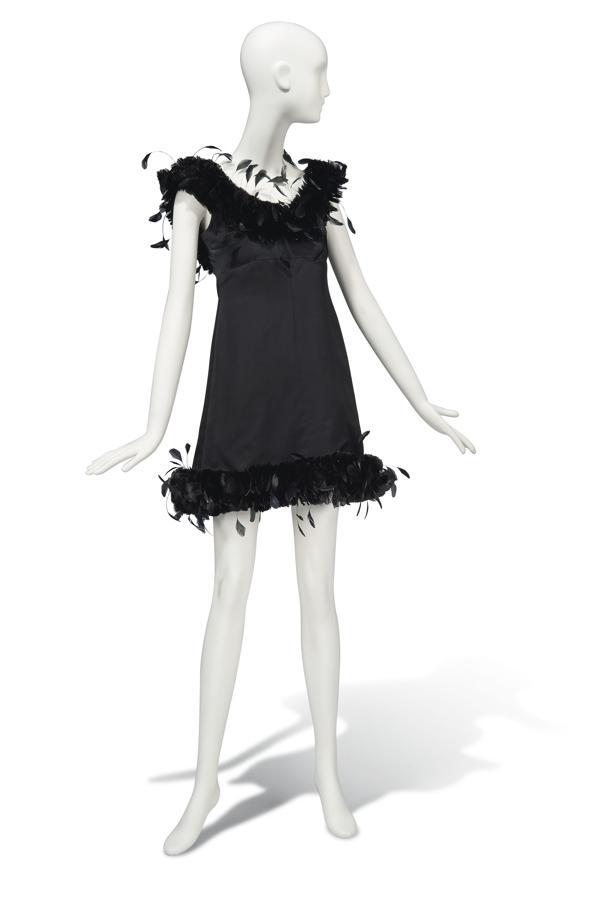 Vestido de cóctel Givenchy de 1968