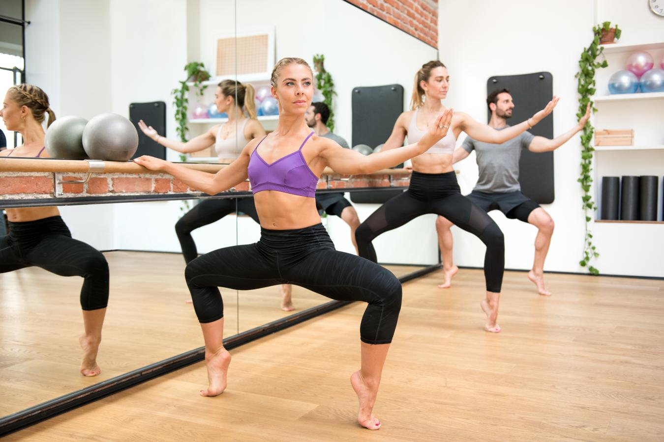 Pilates en barra