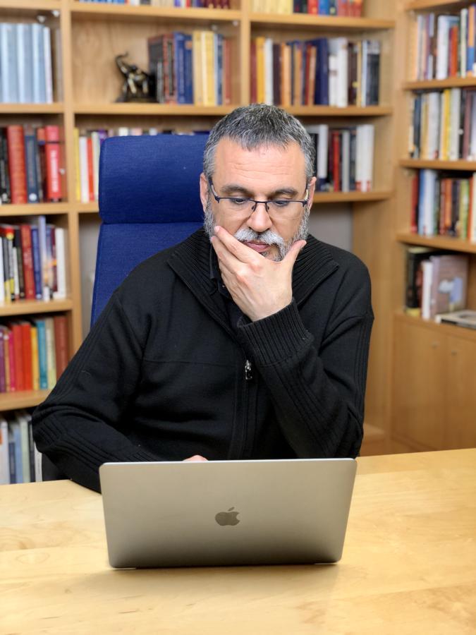 Pedro Moreno, para controlar la ansiedad