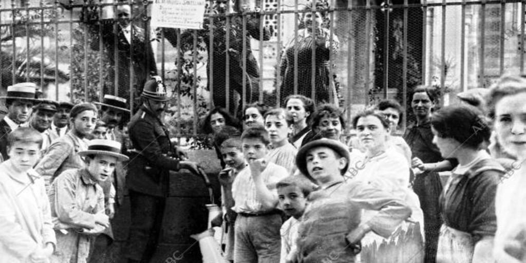 La dramática semana sin agua en Madrid - Archivo ABC