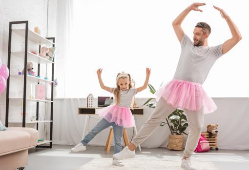 Baile con niños.