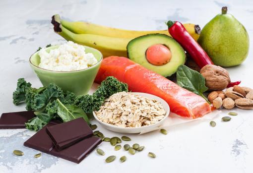 Alimentos que miman el cerebro.