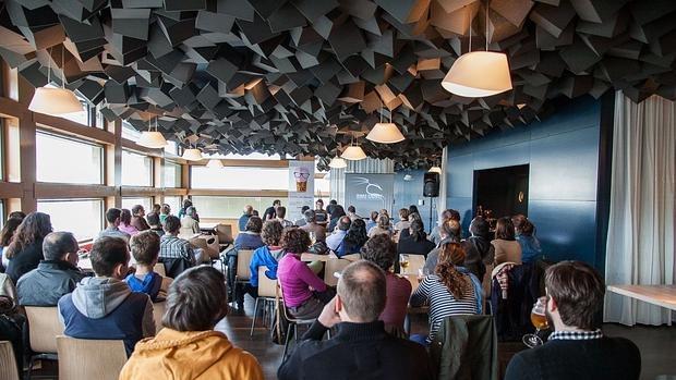 Una charla científica en un bar en la edición del pasado año