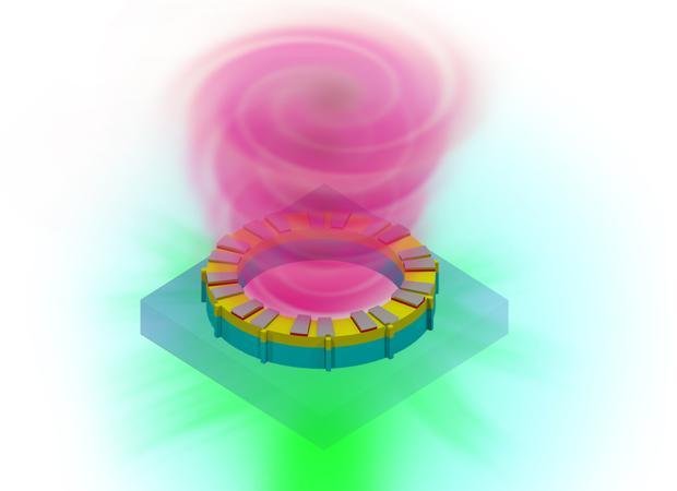 Los científicos son capaces de modificar la luz para generar un extraño patrón retorcido