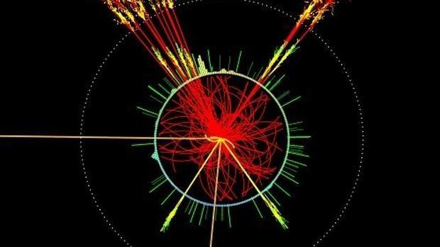Simulación del bosón de Higgs