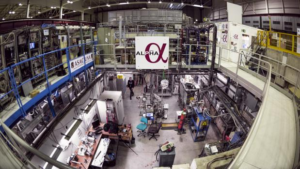 El experimento Alpha para el estudio de la antimateria