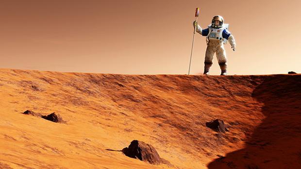 Así evolucionarían los humanos si tratasen de colonizar Marte