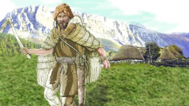 Posible aspecto de un hombre del norte peninsular hace unos 4.500 años