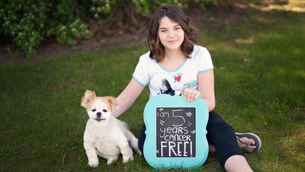 La pequeña Emily Whitehead venció al cáncer con una novedosa terapia génica