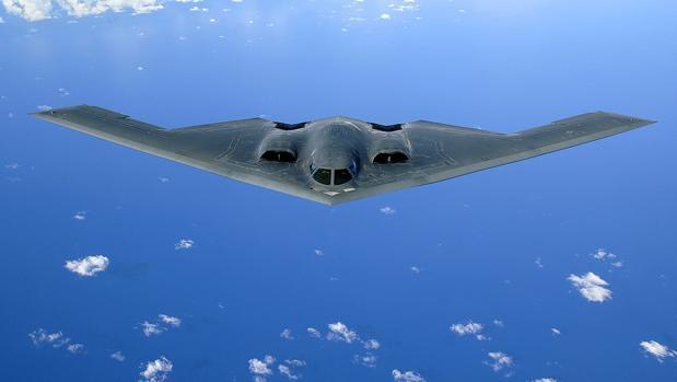Bombardero furtivo estadounidense B2-Spirit. El radar cuántico podría acabar con su sigilo
