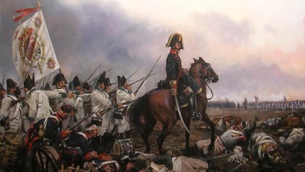 Representación de la batalla de Bailén