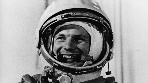 Yuri Gagarin, después del primer vuelo espacial
