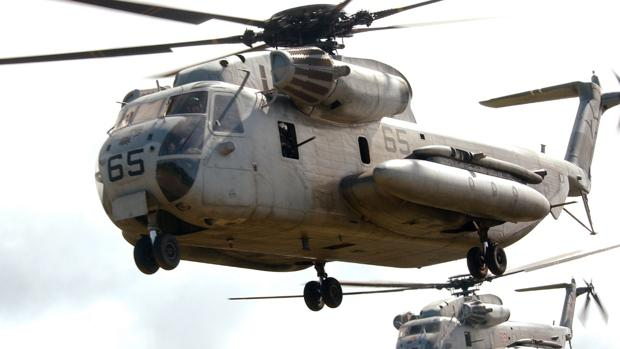 Dos helicópteros de la compañía Sikorsky, del ruso Igor Sikorsky
